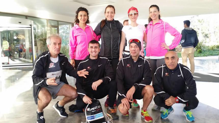 Eker I Run Team, Runatolia Maratonu'ndan 3 madalya aldı