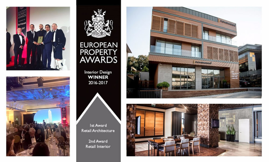 Novawood'a Avrupa'dan 2 prestijli ödül