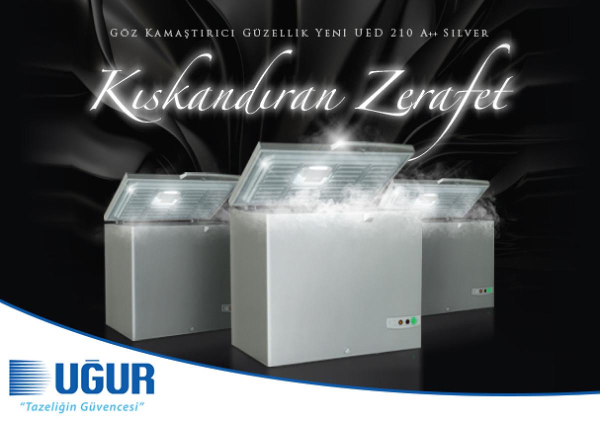 Kıskandıran Zerafet UED 210 Gümüş A++, Satışa Sunu...