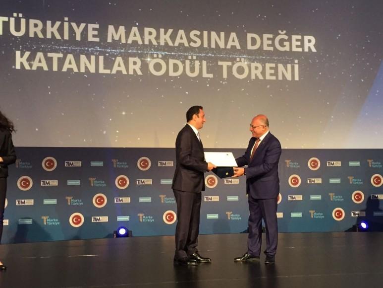 """Türkiye'nin """"Katma Değer Üreten Marka Ödülü"""" VSY Biotechnology'nin oldu"""