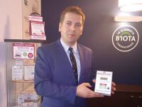 Biota Laboratuvarları Polonya genel müdürü Michal Kowalski