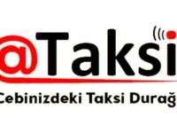 @Taksi beyaz logo