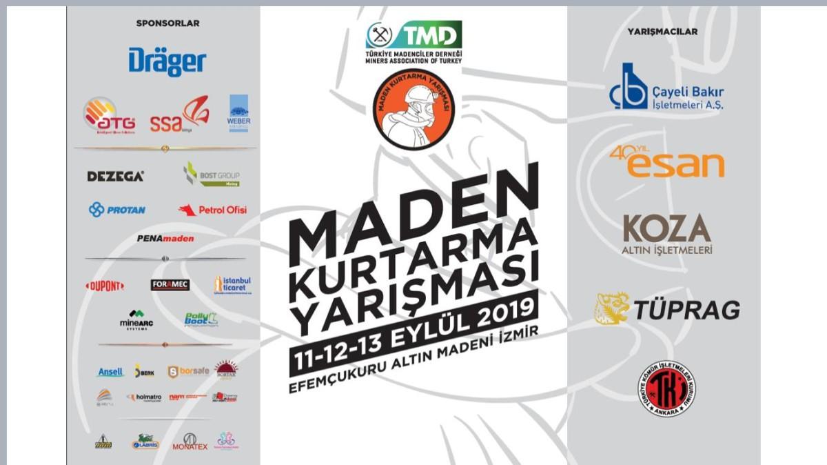 Türkiye'de ilk kez Maden Arama Kurtarma Yarışması...