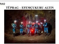 Maden Arama Kurtarma Yarışması TÜPRAG - EFEMÇUKURU ALTIN