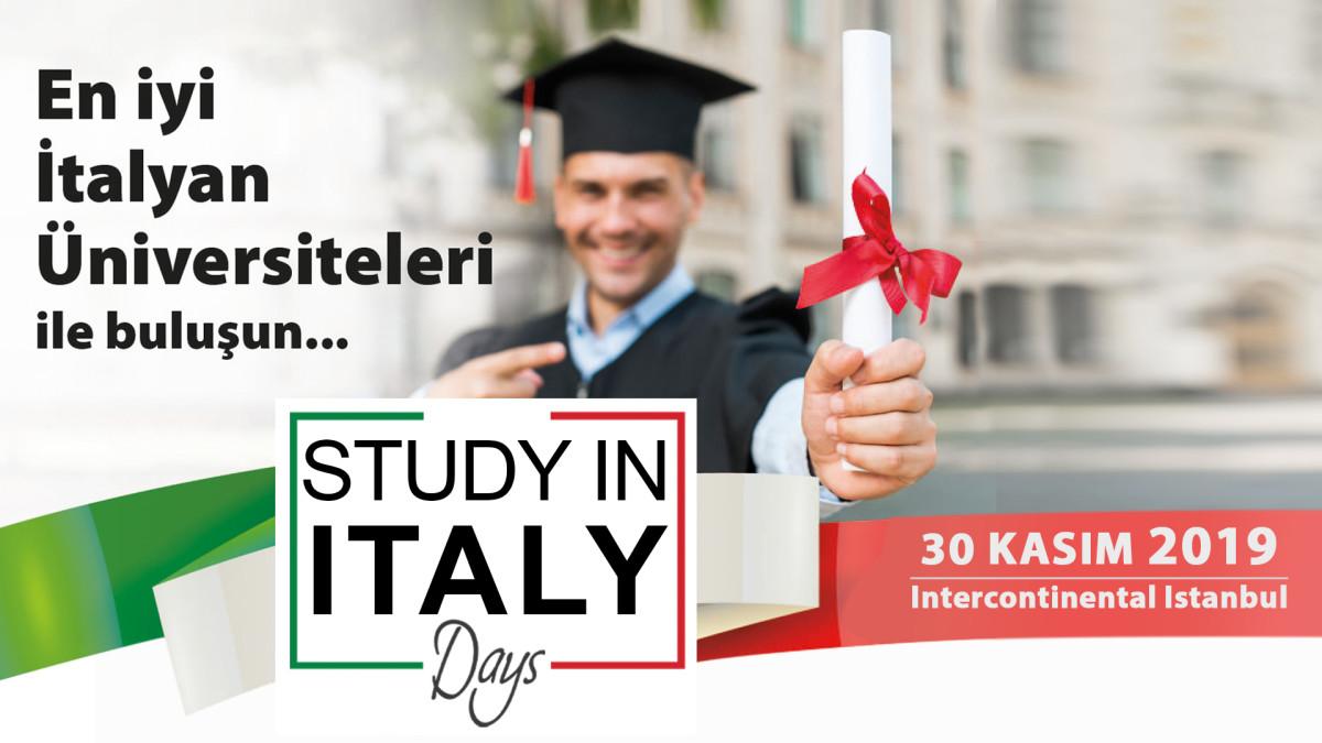 İtalyan Üniversiteleri İstanbul'da başarılı Türk ö...
