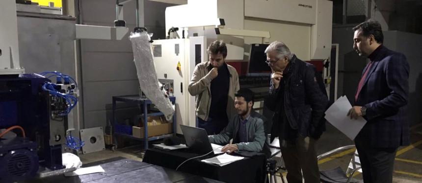 Türk firmasından Almanya'ya 5 eksenli CNC makine ihracatı
