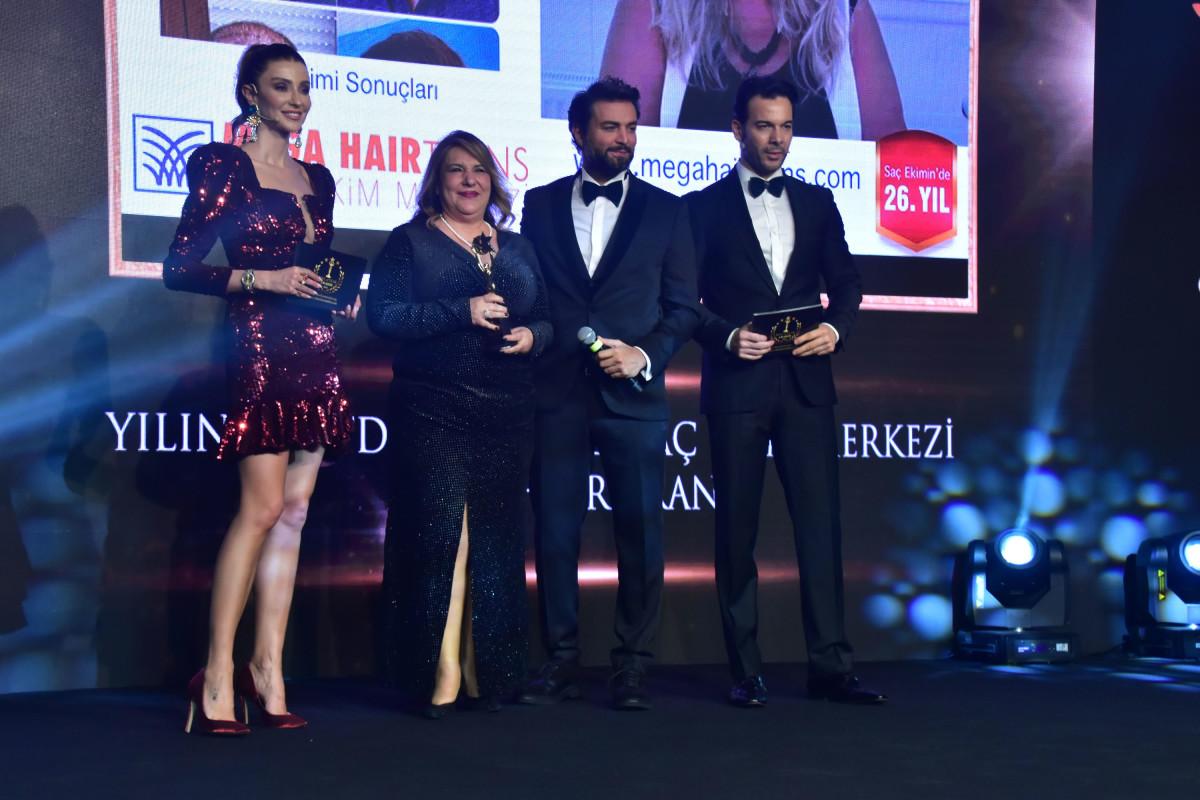 Mega HairTrans markası 'Avrupa'nın En Başarılı Saç...