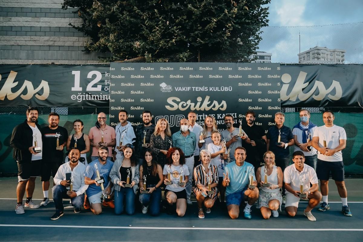 Scrikss Cup Eğitime Katkı Turnuvası ile 12 Öğrenci...