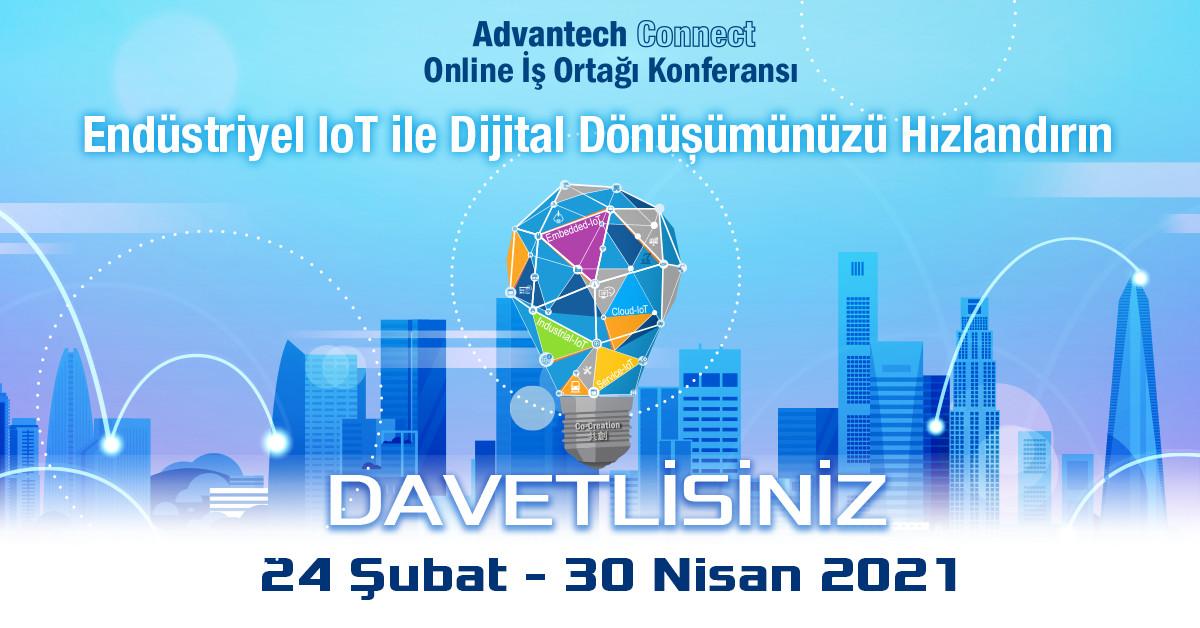 Advantech'in yapay zeka temalı online konferansı...